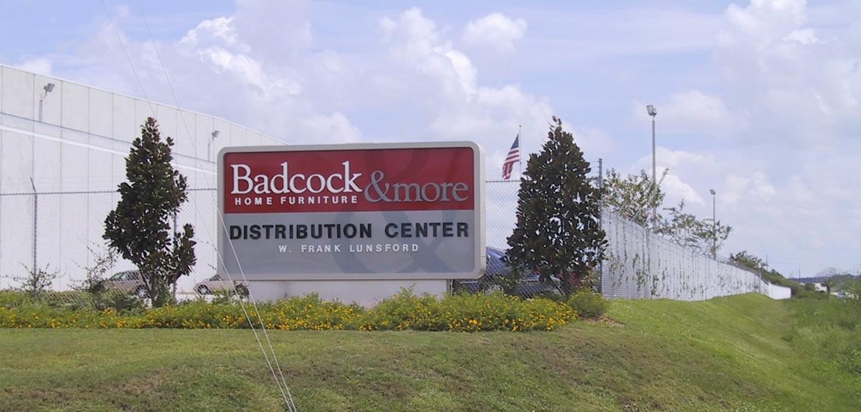 Badcock Home Furnishings Sign Construction