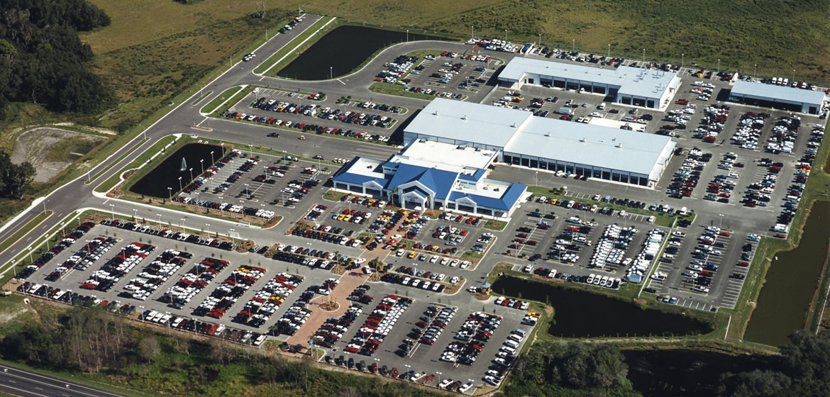 Bartow Ford Aerial Register Construction After